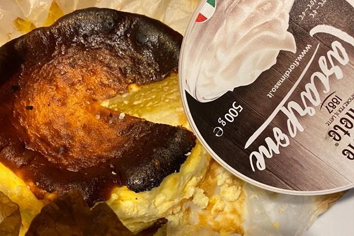 シェフズのバスクチーズケーキ